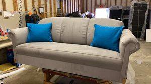 New Stain Master fabric Gray sofa and loveseat for Sale in Thomasville, NC