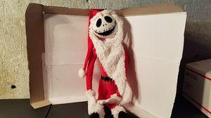 "Nightmare Before Christmas Poseable Santa Jack Skellington Plush - 24"" for Sale in Cranston, RI"