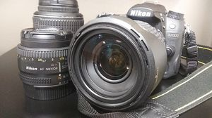 Nikon D7000 with 3 Lenses for Sale in Kissimmee, FL