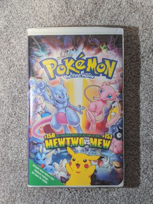 Pokemon The First Movie: Mewtwo vs. Mew VHS 2000 for Sale in Castro Valley, CA