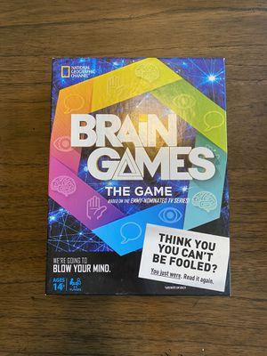 Brain Games Board Game for Sale in Ashburn, VA
