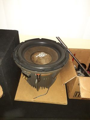 """12"""" w12gti 12228 4000 watts 1500 rms all day for Sale in CRYSTAL CITY, CA"""