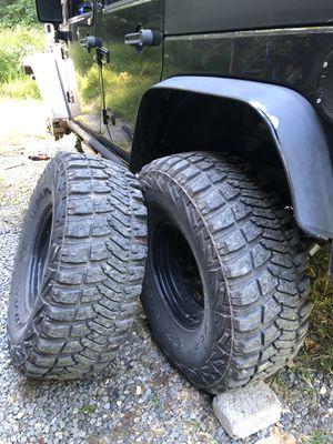 Jeep Wrangler Wheels+Tires for Sale in Sterling, VA