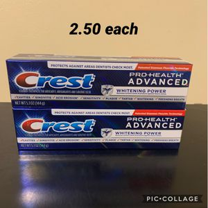 Crest pro health advanced for Sale in Los Angeles, CA