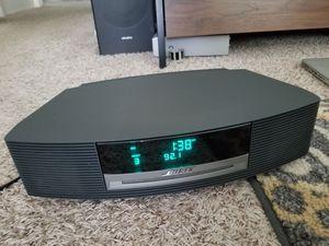 Bose Wave Radio & CD Player AWRCC1 AM FM Radio, AUX. Alarm Radio for Sale in San Diego, CA