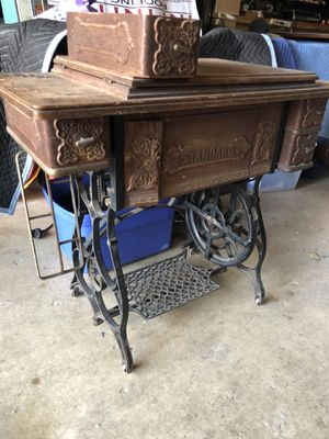 Antique Standard sewing machine table for Sale in Austin, TX