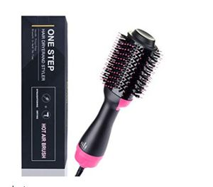 Hair Dryer Brush, One-step Hair Dryer and Volumizer Blower Brush for Dry & Straighten & Curling, Hot Air Styling Brush, Smooth Frizz with Negative for Sale in Rancho Cucamonga, CA