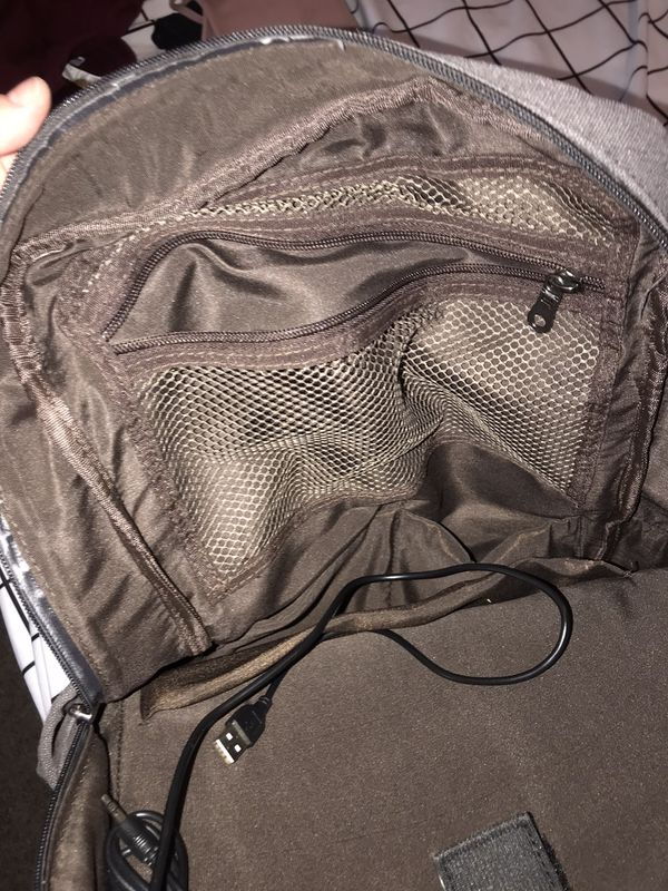 Laptop backpack with USB port