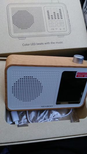 Brand new. Super cool. Wireless Clock Speaker! Bluetooth for Sale in Portland, OR