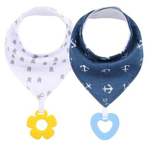 Baby bandana drool bibs and teething toys 100%organic cotton supper absorbent and soft hippoallergenic infant and toddler for Sale in Miami, FL
