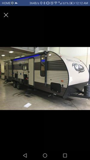 2017 Forest river cherokee Grey wolf 31ft travel trailer for Sale in BOWLING GREEN, NY