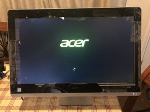 Acer aspire Z3-715 broken touch screen for Sale in Plano, TX