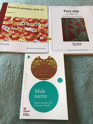 Clark College - Spanish 123 Textbooks for Sale in Camas, WA