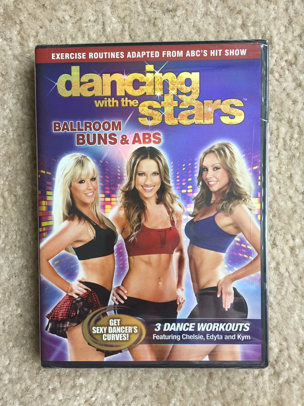 Dancing with the Stars: Ballroom Buns and Abs DVD (Brand New/Unopened)