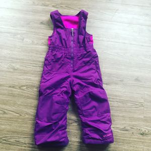 Columbia Toddler size 4T girls snow pants pink and purple for Sale in Portland, OR