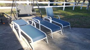 Patio Chairs (3) for Sale in Suffolk, VA