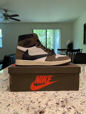 Nike Air Jordan 1 Travis Scott Size 9 for Sale in Pompano Beach, FL
