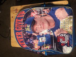 """JOHN CENA """"Never Give Up"""" Backpack for Sale in Nashville, TN"""