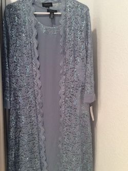 R & M Richards Mother Of The Bride Formal Dress & Matching Sequin Jacket Size 8 Brand New for Sale in San Diego,  CA