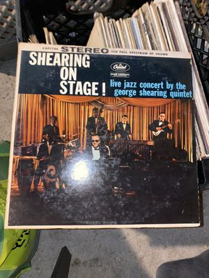 """The George Shearing Quintet """"Shearing On Stage!"""" Vinyl 1959 for Sale in West Covina, CA"""