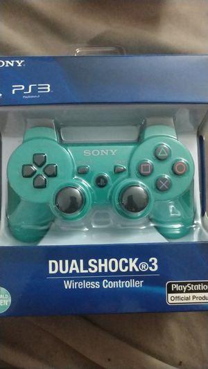 Ps3 wireless controller, green, brand new for Sale in Pompano Beach, FL