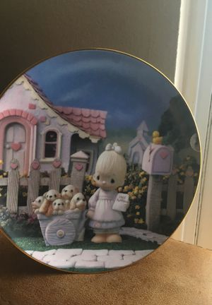 Norman Rockwell and precious moments collection plates for Sale in Aurora, CO