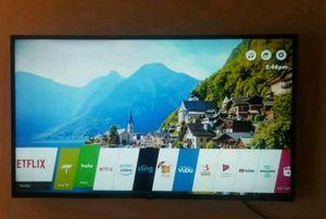 49in lg 4k smart tv for Sale in US