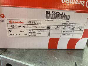 Brembo coated rear disc brakes Camry/ES300 for Sale in Sayreville, NJ