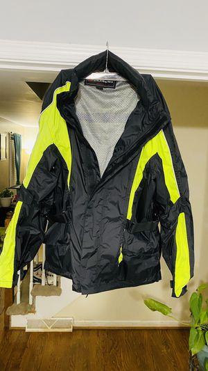 Motorcycle rain / wind jacket for Sale in Lynchburg, VA