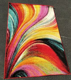 4x6 Abstract Designer Rug by Well Woven for Sale in Baltimore, MD