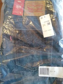 Brand new Levi's 511 Blue Jeans (31 x 30) for Sale in Las Vegas,  NV