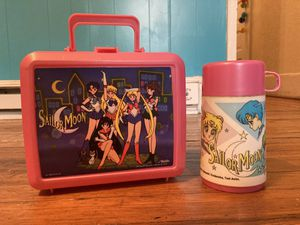 Sailor Moon Lunch Box with Thermos for Sale in Bear Creek Village, PA