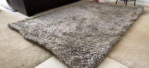 """Boho farmhouse style plush throw area rug - ikea cloud gray - 96x69"""" for Sale in Huntington Beach, CA"""