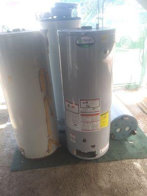 4 water HEATERS big ones for scrapp gratis 4 boylers for Sale in Pomona, CA