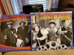 Three Stooges 2002 and 2003 calendar for Sale in Meridian, MS