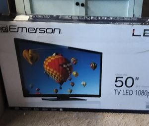 "Not a smart TV..Never been used 50"" Emerson tv for Sale in Stockton, CA"