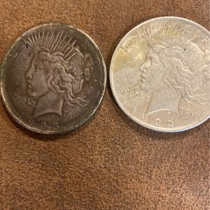 1922 And 1923 Liberty Peace Dollars for Sale in Virginia Beach, VA