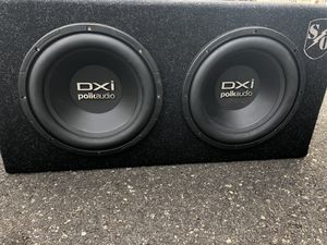 DXi Polkaudio subwoofer with amp for Sale in Manchester Township, NJ