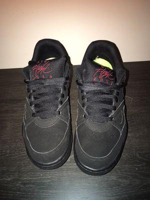 Nike air flight 2013 low black shoes for Sale in Salisbury, NC