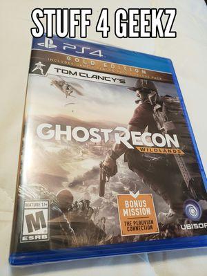 PS4 Ghost Recon Wildlands NEW for Sale in Redondo Beach, CA