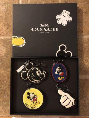 Disney Coach Mickey Mouse Hangtag Set for Sale in Huntington Beach, CA