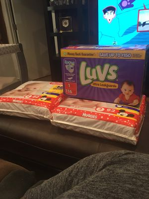Baby diapers for Sale in Cheverly, MD