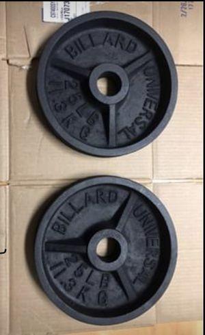 2-25 pound Weight Plates for Sale in Orlando, FL