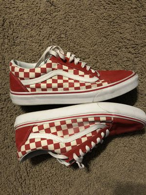 Red checkered vans for Sale in Seattle, WA