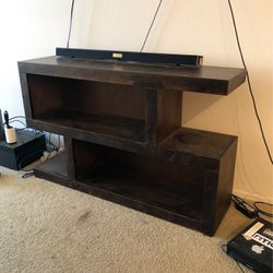 Solid Wood Entertainment Stand for Sale in Irvine,  CA