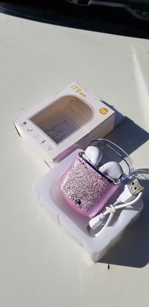 Pink wireless earbuds new rechargeable for Sale in Mountain View, CA