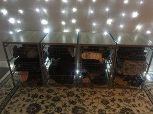 Modern grey caged drawer for Sale in Las Vegas, NV