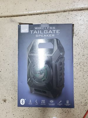 Wireless Tailgate Speaker for Sale in Henderson, NV