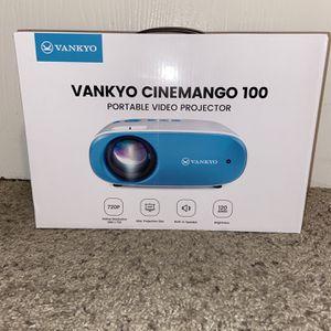 Vankyo CineMango 100 Portable Video Projector 720p Brand New for Sale in Sacramento, CA