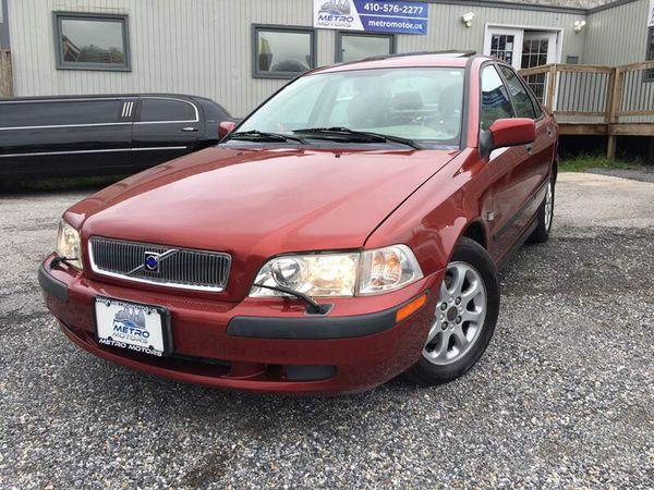 2002 Volvo S40 - $2999